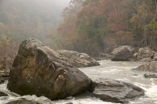 Devils Jump Rapids, Big South Fork, National Recreation Area, Kentucky Image #12881